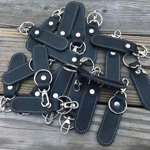 Handmade Accessories - Whole Sale Key chains Lot of 20 Handmade Black